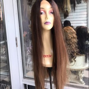 Accessories - Wig Swisslace Lacefront Long Browns lace 2019